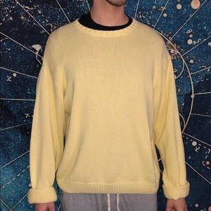 Eddie Bauer Yellow Sweater (used)